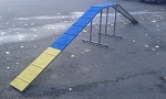 Mini Dog Walk - 8' Ramps - 3' Center