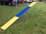 12' Competition Teeter - Adjustable Height - Folding Base