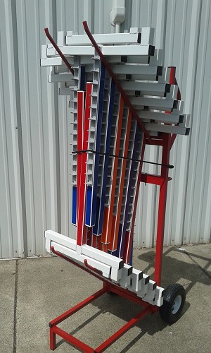 Jump Trolley & 10 Vinyl Color Wingless Jumps